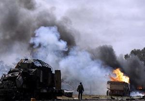 Командование НАТО признало факт ошибочного удара по повстанцам в Ливии