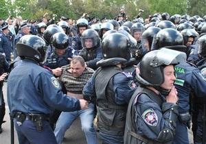 Против двух свободовцев возбудили дела за сопротивление милиции во Львове