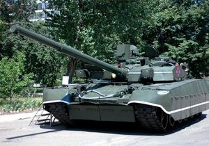 В Харькове представили новые образцы военной техники