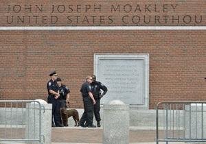 В США начались слушания по делу Царнаева. Обвиняемый отказался признать вину