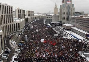 Опрос: Большинство участников митинга в Москве из кандидатов в президенты РФ наиболее доверяют Явлинскому