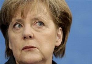 Меркель назвала обращение Каддафи к народу  пугающим