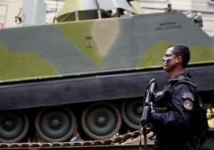 На улицах Рио-де-Жанейро появились танки