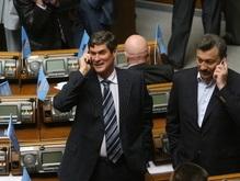 Заседание Рады началось с перерыва. Регионалы не меняют тактики