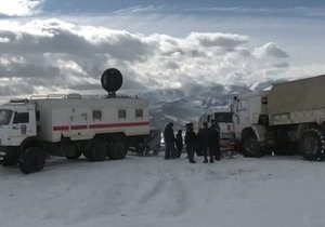 В Туве третий день продолжаются поиски школьников, попавших под лавину