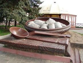 В Полтаве прошел чемпионат Украины по скоростному поеданию галушек