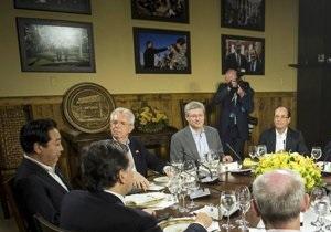 Би-би-си: Саммит G8 - для экономики важны рост и устойчивость