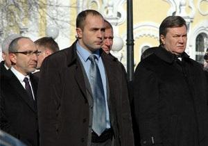 Янукович не мог вспомнить отчество и фамилию Кернеса