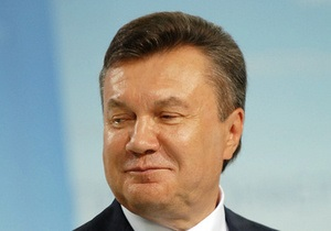Янукович поздравил украинцев с Днем Конституции