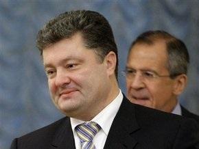 Порошенко и Лавров поговорили о ЧФ, запретах на въезд и торговых барьерах
