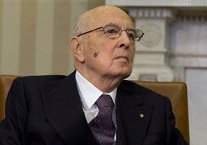 Избрание президента Италии открывает выход из политического тупика - Reuters