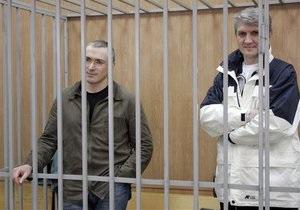 Арест Ходорковского и Лебедева продлен еще на три месяца