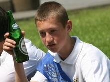 Украинские подростки спиваются