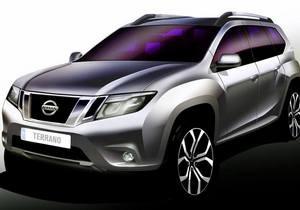 Nissan показал первое изображение кроссовера Terrano нового поколения