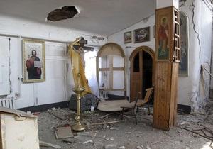 МВД: Дело по взрыву в храме Запорожья раскрыто