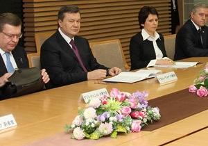 Янукович пообещал японцам использовать деньги от Киотского протокола на энергосбережение