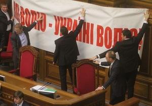 За освобождение Тимошенко проголосовал Шуфрич и еще семеро регионалов