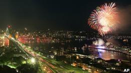 По всему миру началось празднование встречи Нового года