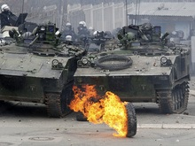 Фотогалерея: Украинские миротворцы попали в балканские жернова