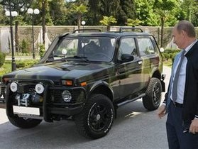 Путин признался, что в его Ниве установлен двигатель от Opel