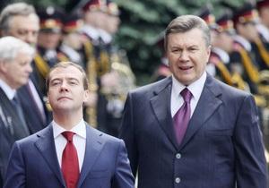 Медведев и Янукович решили урегулировать приднестровскую проблему