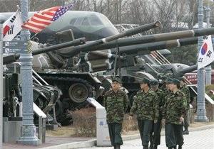США и Южная Корея начали совместные военные учения