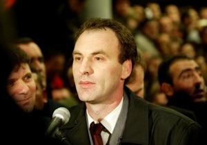 В Косово арестован влиятельный политик по подозрению в военных преступлениях
