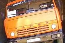 В Херсонской области столкнулись Opel и КамАЗ. Есть жертвы
