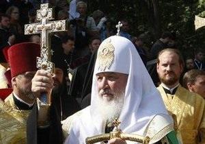Патриарх  Кирилл завершит визит в Украину литургией в Киево-Печерской Лавре