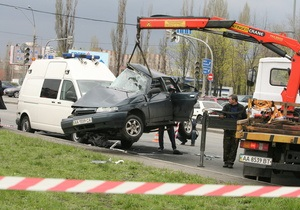 ДТП с кортежем Януковича: жене погибшего таксиста погасили кредит на квартиру