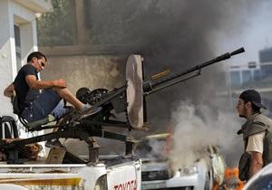 Ливийские повстанцы смогут стать солдатами или полицейскими