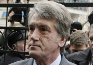 Кирееву доложили, что Ющенко находится на территории Украины