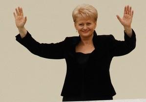 После выборов в Литве президент выступила против создания оппозиционной коалиции