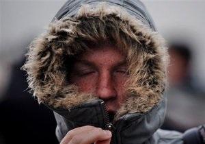 В Украине сильные морозы продержатся до четверга