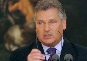 В суд по делу Иващенко прибыл экс-президент Польши Квасьневский