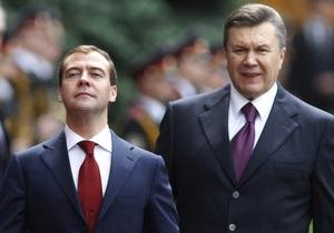 В Кремле опровергли информацию о встрече Януковича с Медведевым