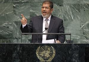 Президент Египта призвал не допустить военной интервенции в Сирию