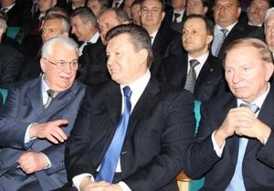 Кравчук: Янукович начал демонтаж кланово-олигархической системы