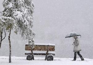 На Австралию обрушился сильный снегопад
