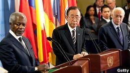 Пан Ги Мун: Сирия не выполняет мирный план