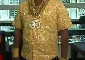 Индиец сделал золотую рубашку за $250 тыс.