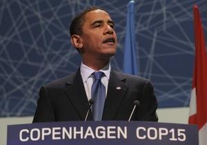Обама: США продолжат борьбу с глобальным потеплением независимо от итогов саммита в Копенгагене
