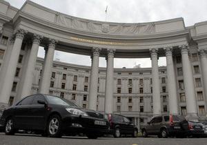 МИД: В 2011 году количество отказов в выдаче шенгенских виз украинцам составило 3,3%