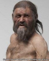 Ученые: у  ледяного человека  Эци были карие глаза