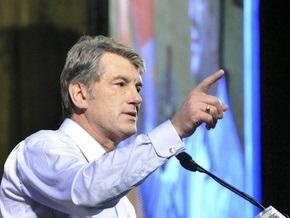 Ющенко: Я не думаю о выборах, я думаю о своих детях