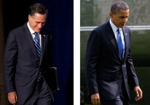 Обама отстает от Ромни, набрав 78 голосов выборщиков против 88
