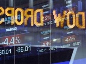 Индекс Dow Jones опустился ниже 8500 пунктов