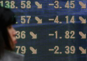 Украинские биржи закрылись снижением