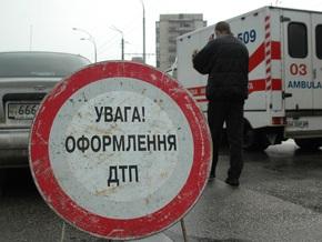 В Киеве на Радужном столкнулись три автомобиля