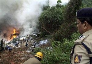 СМИ: Причиной авиакатастрофы в Индии могла стать ошибка пилота